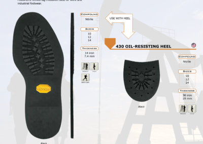 430 OIL-RESISTING SOLE & HEEL